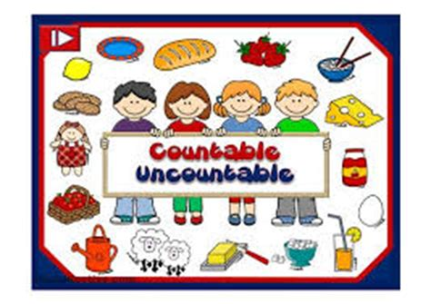 Nouns countable and uncountable - LearnEnglish Kids